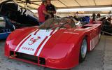 Abarth 3000 V8 prototype vergaser