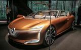 Renault has revealed its new Symbioz concept car - a connected, autonomous and electric vehicle that integrates itself into the driver's home when not in use.