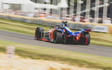 Mahindra Formula E racer, 2018
