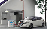 Nissan Leaf two-way charging technology