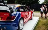2003 Citroen Xsara WRC racer