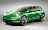 Tesla Model Y render