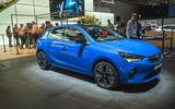 Vauxhall Corsa-e at Frankfurt motor show 2019