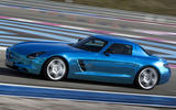Mercedes-AMG SLS Electric Drive side profile