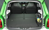 Smart Forfour Electric Drive extended boot space