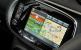 Smart Forfour Electric Drive infotainment system