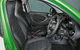 Smart Forfour Electric Drive interior