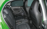 Smart Forfour Electric Drive rear seats