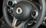 Smart Forfour Electric Drive steering wheel