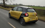 Smart Forfour rear