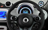 Smart Forfour steering wheel