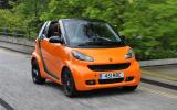 Smart Fortwo front quarter