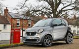 The small and agile Smart Fortwo