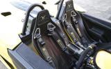 Elemental RP1 racing harnessed seats
