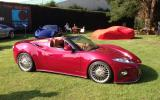 Spyker B6 Venator Spyder makes European debut