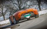 Spyker C8 rear cornering