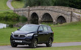 Ssangyong Rexton on the road