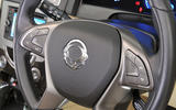 Ssangyong Rexton steering wheel