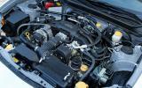 Subaru BRZ boxer engine