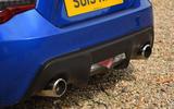 Subaru BRZ dual-exhaust system
