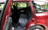 Subaru Forester rear seats