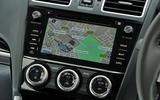 Subaru Forester centre console