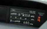 Subaru Forester information display