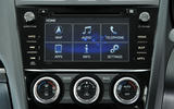 Subaru Forester infotainment system