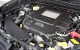 Subaru Forester engine bay