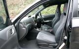 Subaru Impreza WRX STI interior
