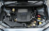 The 1.6-litre turbo engine in the Subaru Levorg