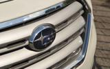Subaru Outback front grille