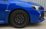 Subaru WRX STI alloy wheels