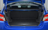 Subaru WRX STI boot space