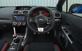 Subaru WRX STI dashboard
