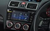 Subaru WRX STI centre console