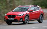 Subaru XV 2.0i Lineartronic SE Premium on the road