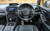 Subaru XV 2.0i Lineartronic SE Premium cabin layout