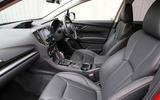 Subaru XV 2.0i Lineartronic SE Premium front seats