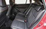Subaru XV 2.0i Lineartronic SE Premium rear seats