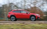 Subaru XV 2.0i Lineartronic SE Premium road tester driving