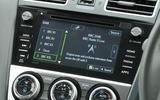 Subaru XV infotainment system