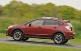 Subaru XV on the road