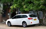 Subaru Outback rear quarter