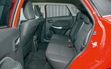 Suzuki Baleno rear seats