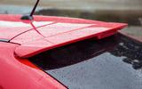 Suzuki Baleno roof spoiler