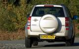 Suzuki Grand Vitara rear cornering