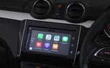 Suzuki Swift Apple CarPlay connectivity