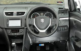 Suzuki Swift dashboard