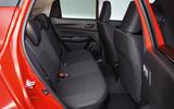 Suzuki Swift rear seats